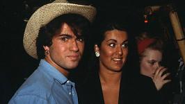 George Michael a jeho sestra Melanie