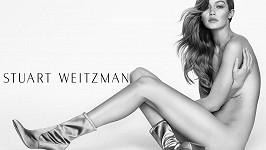 Gigi Hadid pro Stuarta Weitzmana