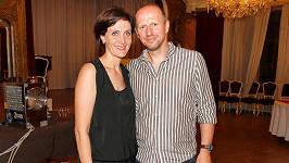 Ester Janečková s manželem