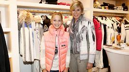 Kateřina Neumannová s dcerou Luckou