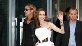 Angelina Jolie a Brad Pitt v Berlíně