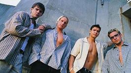 T-Boyz: Zleva Fanda, Robert, Petr Vojnar a Iceman