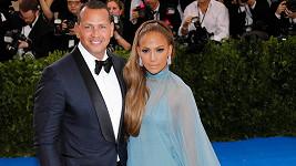Jennifer Lopez s Alexem Rodriguezem na Met Gala