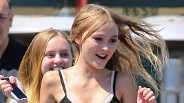 Lily-Rose Depp dostala svou první hlavní filmovou roli.