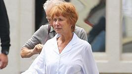 Helen Mirren v pyžamu hraje ve filmu o Alfred Hitchcock,