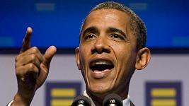 Americký prezident Barack Obama hovoří na večeři pořádanou organizací Human Rights Campaign.