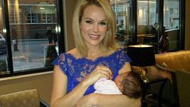Amanda Holden s dcerkou Hollie.