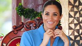 Vévodkyně Meghan na návštěvě Tongy