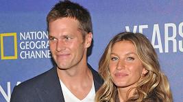 Gisele Bündchen s manželem Tomem Bradym