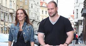 Lucie Králová a Jiří Šlégr