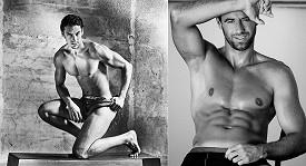 Kalendář Men 2015 je plný nabušených českých modelů.