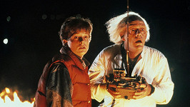 Michael J. Fox a Christopher Lloyd