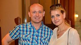 Lucie Koňaříková s Davidem Novotzným.