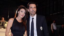 Gigi Buffon a Ilaria D´Amico