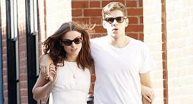 Keira Knightley s manželem.