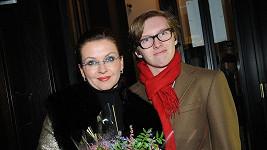 Dana Morávková se synem