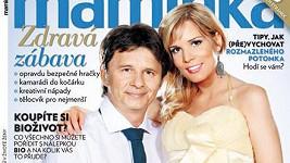 Jan Šťastný s manželkou Bárou Petrovou