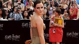 Emma Watson na newyorské premiéře Harryho Pottera.