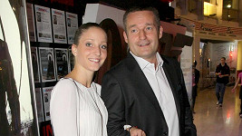 Vladimír Hron s manželkou.