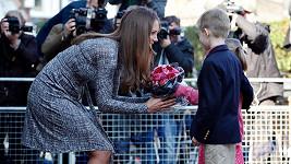 Vévodkyně Catherine se byla podívat na pečovatelský dům v Londýně.