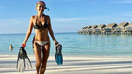 Začátek ledna stráví Lucca na Maledivách.