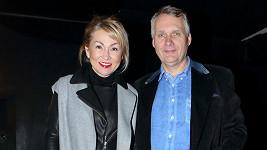 Kateřina Hrachovcová s manželem