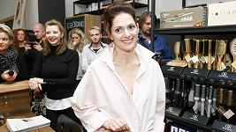 Klára Issová přišla podpořit bohulibý projekt kolegyně Andrey Kerestešové.