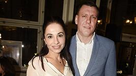 Michaela Kuklová s partnerem