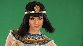 Gábina v kostýmu Kleopatry.
