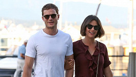 Jamie Dornan s manželkou
