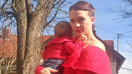 Kristýna Leichtová se pochlubila malou Dorotkou.