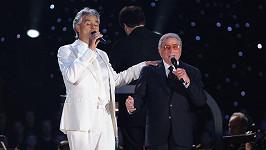 Tony Bennett a Andrea Bocelli