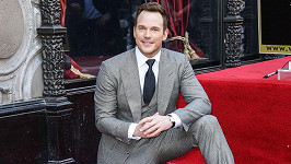 Chris Pratt se letos dočkal hvězdy na chodníku slávy.