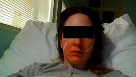 Ektorova údajná oběť Tereza. Jeho fotku neukazujeme, asi by nás zmlátila.