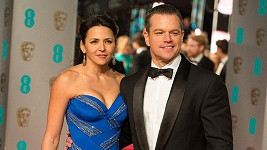 Matt Damon s manželkou Lucianou Barroso