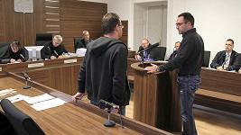 Michal Červín se před soudem přiznal k užívání kokainu.