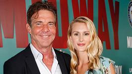 """""""Miluji, jaká je. Její charakter, inteligenci a samozřejmě krásu,"""" uvedl herec na konto své dnes již manželky."""