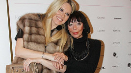 Františka s přítelkyní Simonou Krainovou.