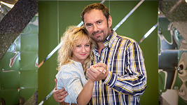 Lucie Hunčárová a Emanuele Ridi