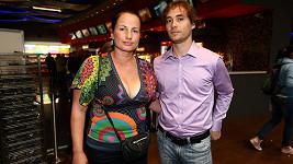 Herec Filip Tomsa s manželkou Evou