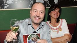 Michal David s manželkou.