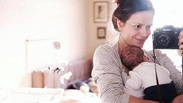 Andrea Růžičková s novorozeným synem