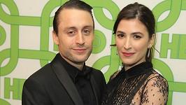 Kieran Culkin s manželkou Jazz Charton