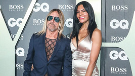 Iggy Pop a Nina Alu na akci Men of the Year v Londýně