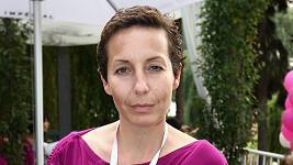 Barbora Lukešová podpořila svou účastí pochod proti rakovině prsu.