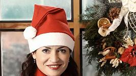 Cvičitelka Hana Kynychová jako Santa Claus.