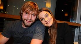 Mahulena Bočanová s přítelem Jiřím Herdou.