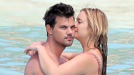 Taylor a Billie si užívali na ostrově Svatý Bartoloměj.