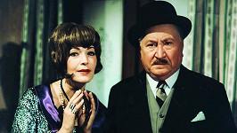 Jaroslav Marvan s Květou Fialovou ve filmu Partie krásného dragouna (1970). V tu dobu už představitel Vacátka bojoval s vážnou chorobou.