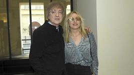 Meky Žbirka s manželkou